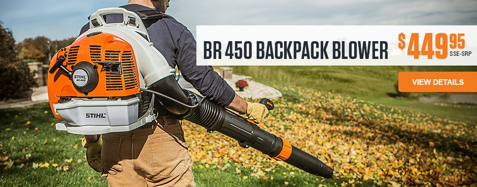 BR 450 Backpack Blower